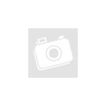 Oszlopon pihenő angyalka szobor - fehér