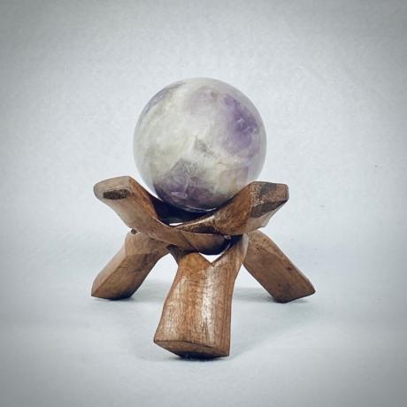 Ametiszt gömb