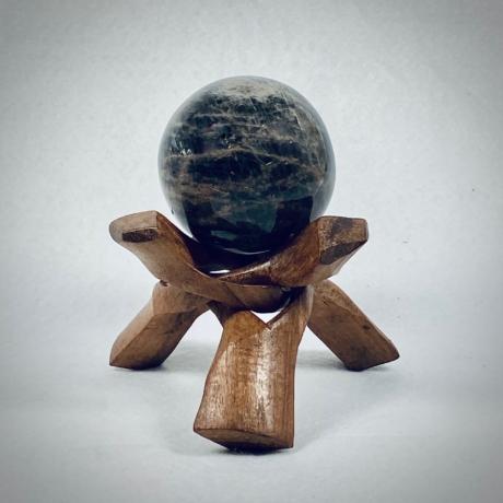 Asztrofilit (fekete Holdkő) gömb