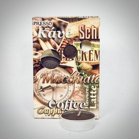Kávé illatú teamécses
