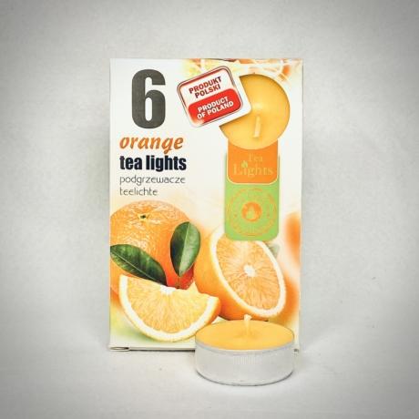 Narancs illatú teamécses