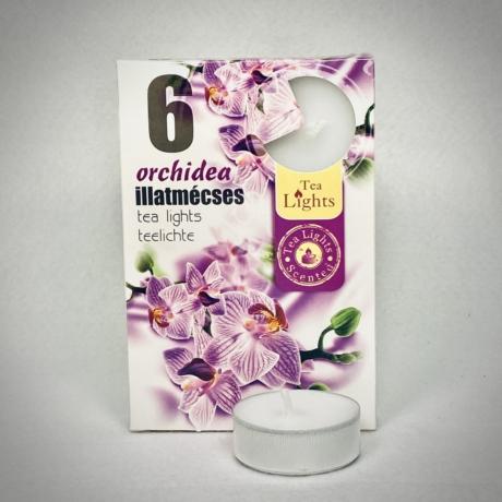 Orchidea illatú teamécses