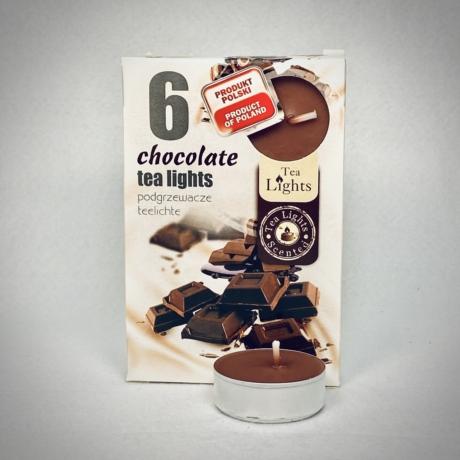 Csokoládé illatú teamécses