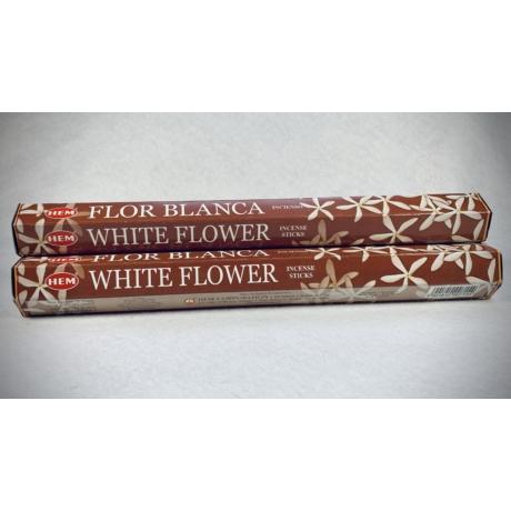 White flower – fehér virág füstölő