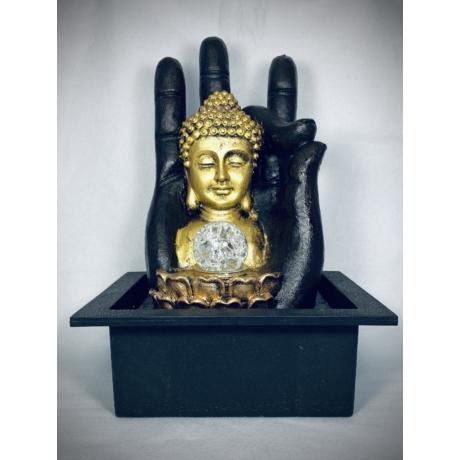 Buddha jobb kézben - csobogó