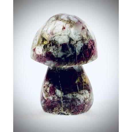 Rubellit (vörös Turmalin) gomba